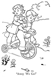 FREE Coloring Pages Vintage Pictures Style 15