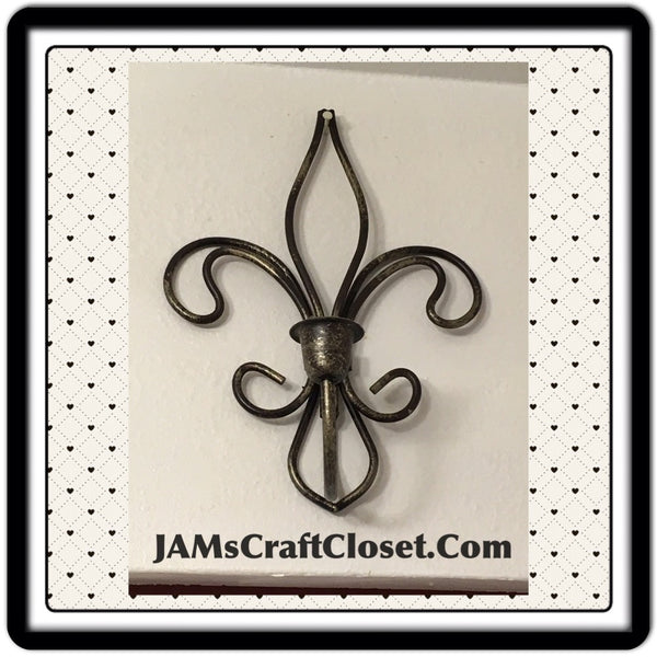 Sconce Metalic Wrought Iron Vintage Sconce Candle Holder SET OF 2 JAMsCraftCloset
