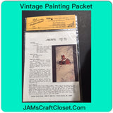 Vintage Painting Packet #20 Snowy Grainery