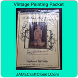 Vintage Painting Packet #22 Country Boy with Duck and Pail