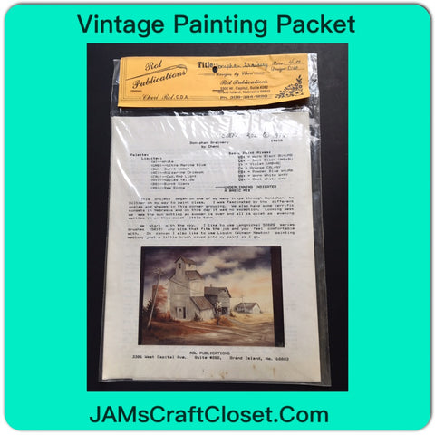 Vintage DIY Painting Packet #24 Doniphan Grainery JAMsCraftcloset