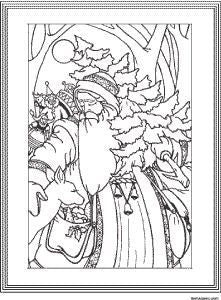 FREE Coloring Pages Vintage Pictures Style 8