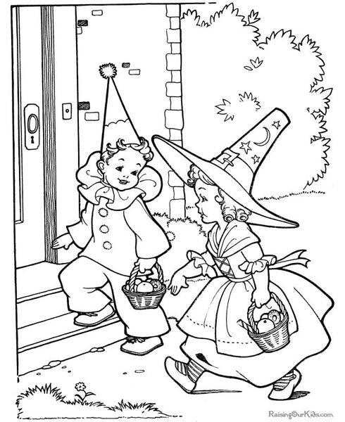 FREE Coloring Pages Holidays Style 3