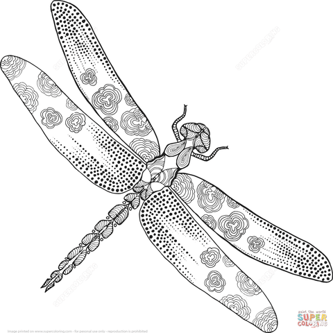 FREE Coloring Pages Animals and Insects Style 4