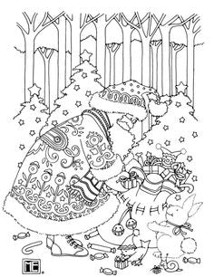FREE Coloring Pages Holidays Style 4