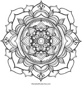FREE Coloring Pages Celestial Mandala Style 2