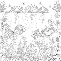 FREE Coloring Pages Animals and Insects Style 7