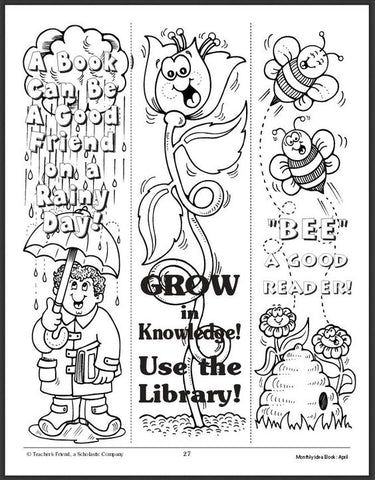 free coloring pages reading and language arts style 5