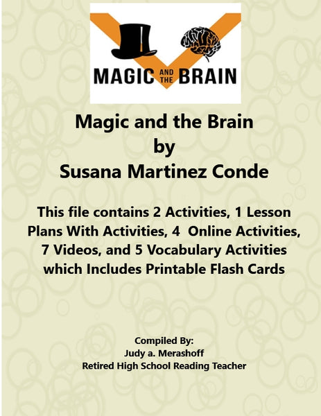 Magic and the Brain Susana Martinez Conde from 7th Grade Florida Collections 2 - JAMsCraftCloset
