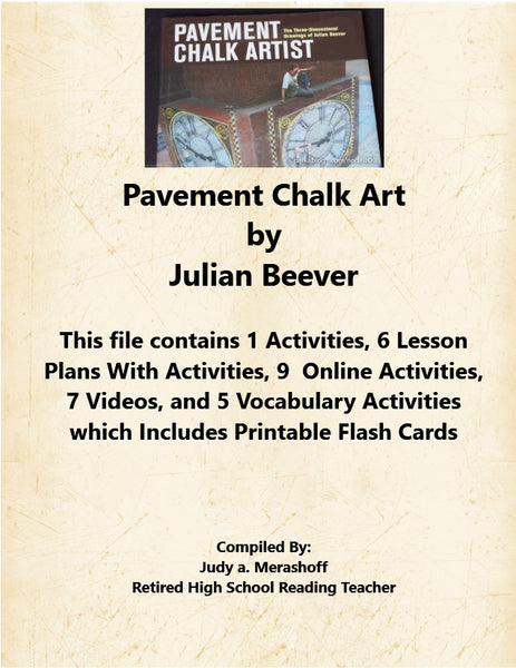 Pavement Chalk Art by Julian Beever Florida Collections 7th Grade Collection 2 JAMsCraftCloset