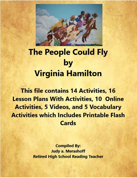 The People Could Fly by Virginia Hamilton From 7th Grade Florida Collections 2 Supplemental Resources JAMsCraftCloset