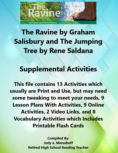Florida Collections 6th Grade Collection 1 The Ravine and The Jumping Tree Supplemental Activities JAMsCraftCloset