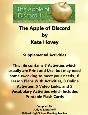 Florida Collections 6th Grade Collection 6 The Apple of Discord I Supplemental Activities  JAMsCraftCloset