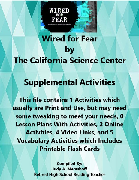 Florida Collections 6th Grade Collection 1 WIRED FOR FEAR Supplemental Activities JAMsCraftCloset