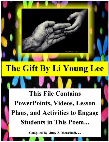 The Gift by Li Young Lee Teacher Supplemental Resources Fun Engaging JAMsCraftCloset