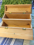 Jewelry Box or Desk Organizer #3 Vintage Wooden Handmade by My DAD