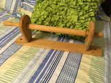 Paper Towel Holder Unfinished Wooden Ready for DIY Upcycle