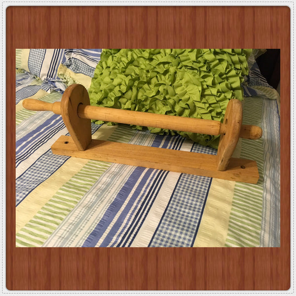 Paper Towel Holder Unfinished Wooden Ready for DIY Upcycle JAMsCraftCloset