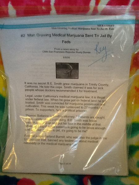 Reading Learning Center Informational Text News Article Man Growing Medical Mary Jane Sent to Jail