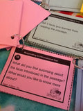 Informational Text Questions 15 Sets Buddy or Group Activity
