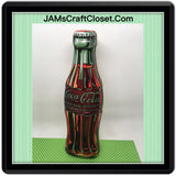 Tin Coca Cola 2003 Unique Tin 9 Inches Tall 2 1/2 Inches Wide 1 1/2 Inches Thick Collectible