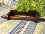 Paper Towel Holder Wooden Vintage Kitchen Bath Decor Primitive Cottage Chic  Victorian Country Decor