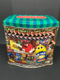 Tin Vintage M and Ms Seasons Greetings c 2001 Advertising Tin Collector