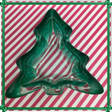 Candy Dish Green Tree Shaped Vintage Trinket Plate Holiday Decor - JAMsCraftCloset