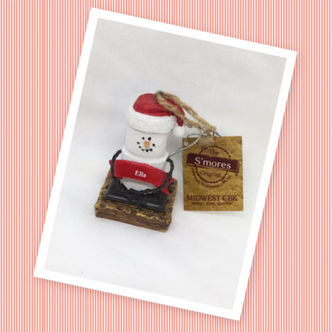 Ornament Vintage The Original S'mores ELLA Christmas Holiday Decor c. 2011