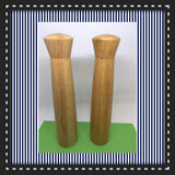Salt and Pepper Shakers TALL Wooden DIY Waiting for YOUR Creativity