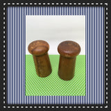Salt and Pepper Shakers Wooden DIY Waiting for YOUR Creativity