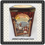 Tin Vintage Tootsie Roll Advertising Tin Collector c. 1992 Highly Collectible