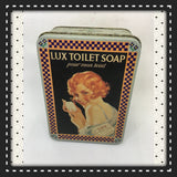 Tin Vintage Lux Toilet Soap Advertising Tin Collector