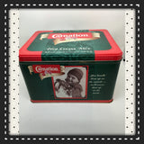 Tin Vintage Carnation Hot Cocoa Mix Second Edition c. 1996 Advertising Tin Collector