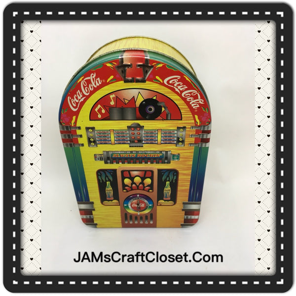 Tin Vintage Coca Cola Jukebox Advertising Tin c. 1999 JAMsCraftCloset