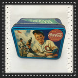 Tin Vintage Coca Cola Baseball Advertising Tin c. 1993