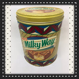Tin Vintage Mars Milky Way Advertising Tin Collector 100th Anniversary Tin c. 1990 Edition