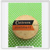 Tin Vintage Cuticura Ointment Advertising Tin Collector Tin Collectible