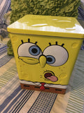 SpongeBob SquarePants Storage Tins c. 2005