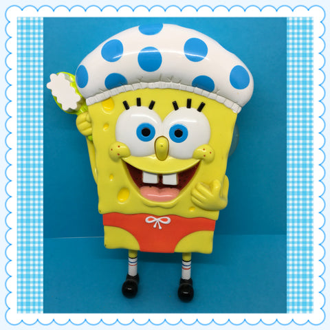 "SpongeBob SquarePants TY Shower Buddy 8"" Tall c. 2004"