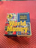 Puzzles MindWare Vintage Discontinued World Money 9 Piece Critical Thinking Teacher Gift