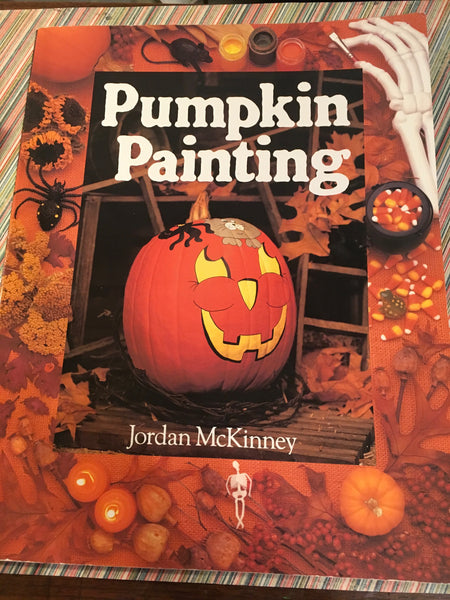 Craft Book Pumpkin Painting by Jordan McKinney Vintage c. 1996 - JAMsCraftCloset