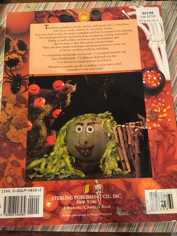 06c8f14bbdc998 1996 - JAMsCraftCloset  Craft Book Pumpkin Painting by Jordan McKinney  Vintage c.
