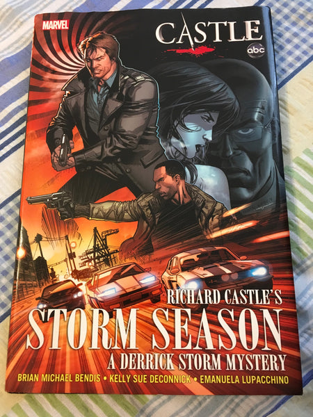 Book Hardback Richard Castle STORM SEASON ABC TV Series Dust Cover Crime Mystery Drama - JAMsCraftCloset