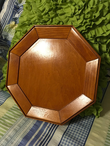 Plaque Wooden Unfinished Vintage  Wall Stained and Sealed Ready for Paint, Mosaic, Mirror