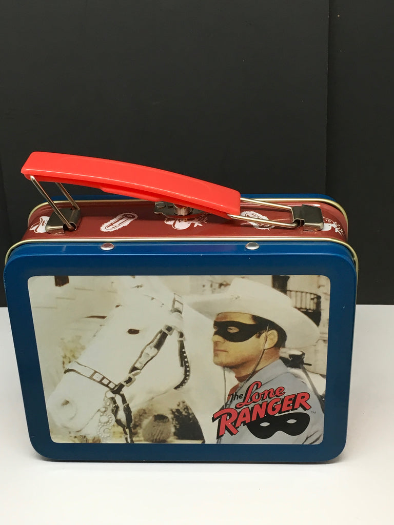 Lunchbox Vintage SMALL Metal LONE RANGER NO THERMOS