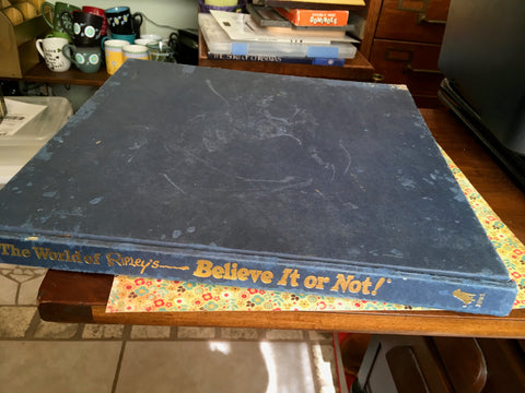 Book The World of Ripleys Believe It or Not Vintage  Coffee Table Gift Collectible c. 1999 - JAMsCraftCloset