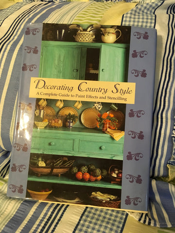 Craft Painting Book DECORATING COUNTRY STYLE Paint Effects Stencilling Crafter Gift - JAMsCraftCloset