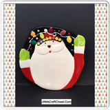 Candy Dish Christmas Holiday Santa Face Vintage Home Decor Gift Idea - JAMsCraftCloset