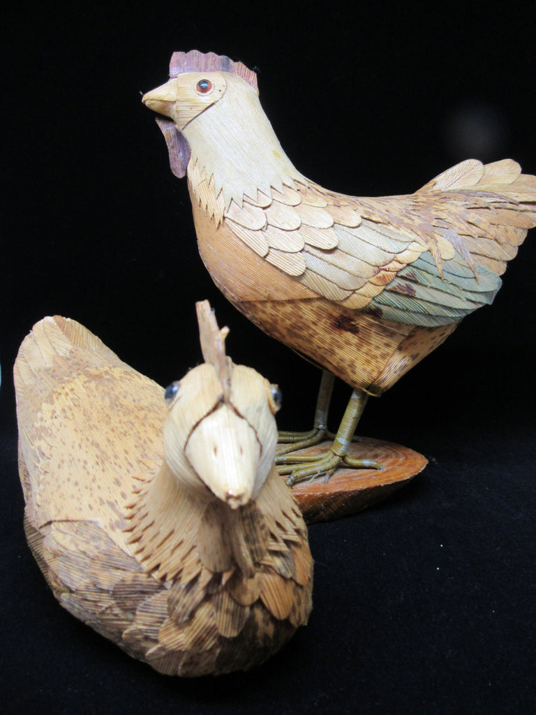 Chickens Natural Element Vintage Country - JAMsCraftCloset